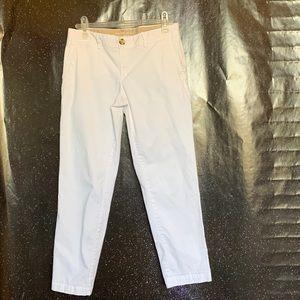 "Banana Republic- ""City Chino"" White Pants size 4s"